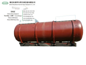 Customsing VAC Acid Sewage Tanker Tank Body- Lined PE for Liquid Chemical Wast 4m3-22m3 (1000USG-6000USG)